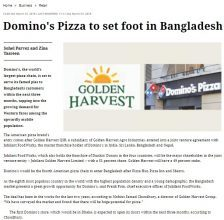Domino's Pizza to set foot in Bangladesh soon